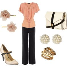 Cute business look! I need this in plus petite size