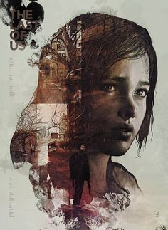 The Last of Us by StudioKxx Krzysztof Domaradzki on Behance Digital Art, Drawing, Illustration The Last Of Us, Plakat Design, Kunst Poster, Design Graphique, Video Game Art, Double Exposure, Concept Art, Illustration Art, Street Art