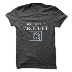 Eat. Sleep. Crochet.