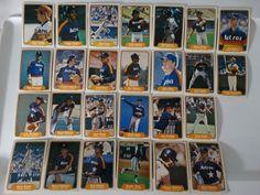 1982 Fleer Houston Astros Team Set of 26 Baseball Cards #Fleer #HoustonAstros