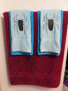 Spiderman Bathroom Decor
