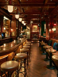 Ralph talks about his first restaurant in NYC, The Polo Bar.