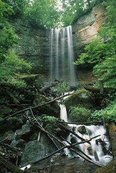 Fairy Falls, Stillwater, Minnesota, June 1998