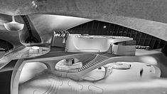 TWA Flight Centre, NYC, designed by Eero Saarinen. Photo by Balthazar Korab 1962 Eero Saarinen, Le Corbusier, Futuristic Architecture, Interior Architecture, Chinese Architecture, Interior Design, Water Architecture, Vintage Architecture, Organic Architecture