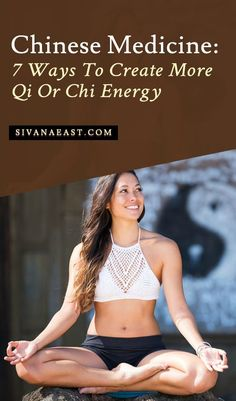 Chinese Medicine: 7 Ways To Create More Qi Or Chi Energy Ayurvedic Medicine, Holistic Medicine, Holistic Healing, Holistic Wellness, Chi Energy, Yoga Philosophy, Learn To Meditate, Breathing Techniques, Anti Inflammatory Recipes