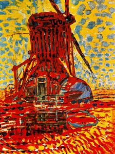 Piet Mondrian Dutch painter