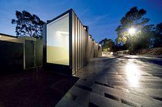 Heide Museum of Modern Art, Melbourne. Its gardens, its houses, its sculptured paths, its little café - all wonderful.