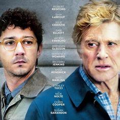 The Company You Keep Poster with Shia LaBeouf and Robert Redford -- A family man's past as a radical activist comes back to haunt him when a journalist starts asking questions in this taut thriller. -- http://wtch.it/NqgEh