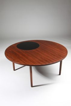 Occasional table, designed by Peter Hvidt and Orla Möllgaard Nielsen, Denmark. 1960's.