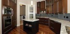 1998 galley kitchen renovation   Corner Pantry