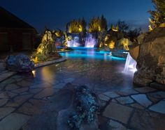 Mustang Estate-17 Eclectic Pool Design Photos
