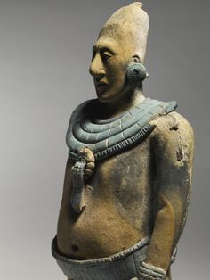 Fine Maya Standing Figure of a Nobleman, Jaina, Late Classic, ca. A.D. 550-950