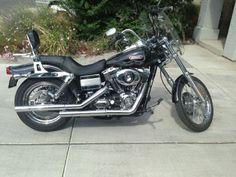 2008 Harley-Davidson DYNA WIDE GLIDE Standard , Black/chrome, 546 miles for sale in Sparks, NV
