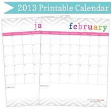 2013 Editable Calendar also budgeting worksheets, etc