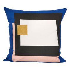 Coussin Fragment - Bleu - 50x50 cm Ferm Living Enfant- Large choix de Design sur Smallable, le Family Concept Store - Plus de 600 marques.