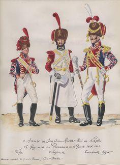 Regno di Napoli - Zappatori di Fanteria di Linea, 1813-15