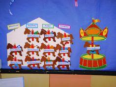 << ΠΕΡΙ... ΝΗΠΙΑΓΩΓΩΝ >> (All about kindergarten): ΠΑΡΟΥΣΙΟΛΟΓΙΑ: Ψαρεύοντας από το Ίντερνετ Welcome Boards, School Bulletin Boards, Projects To Try, Panel, Blog, Weather, Calendar, Blogging, Weather Crafts