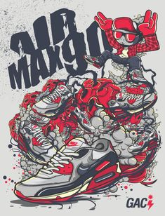 Airmax 90 By Prototype4D's Gil Angelo Campita Ibe. by Prototype4D , via Behance