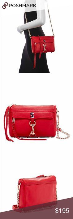 """Rebecca Minkoff mini Mac """"S"""" bag A special addition. Personalized!! Very rare. Rebecca Minkoff Bags"""