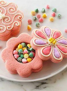 Flower Surprise Cookies..........