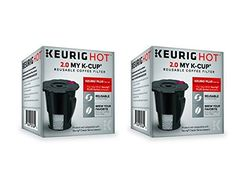 Keurig 119367 20 My KCup Reusable Coffee Filter Updated Model 2 PACK ** Visit the image link more details. Note:It is affiliate link to Amazon.