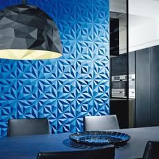 Intrigue :: Eiffeitalia.  3D wallcovering with sound-absorbing quality.