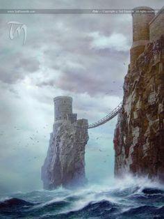 Pyke #castles #soiaf