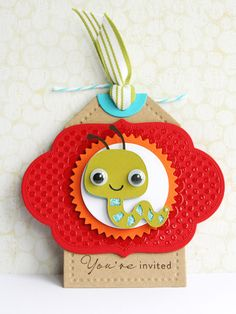 Birthday invites or favor bag tags