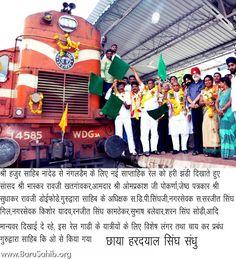 Press Coverage on the Weekly Train Service – Sachkhund Hazur Sahib