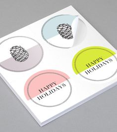 Browse Round Sticker Design Templates | MOO (United States)