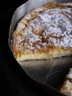 Γαλατόπιτα - The Cook in you - Pastry Art, Sweet Desserts, Pie Recipes, Milk, Cooking, Food, Bakken, Kitchen, Essen