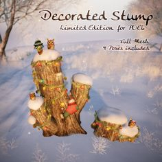 HPMD*Decorated Stump (LIMITED EDITION! for POE6 Hunt) | Flickr - Photo Sharing!