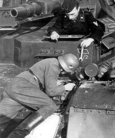 Service German tank PzKpfw IV Ausf.A