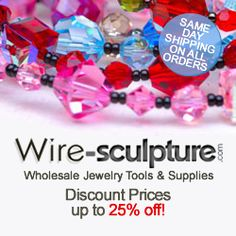 Learn the art of making wire sculptures and wire Jewelry from expert craftsman.