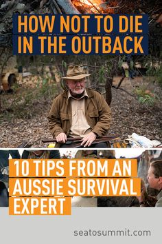 How to not die in the outback: 10 tips from an Aussie Survival Expert – Sea to Summit - Everything You Need To Know About Survival Skills Survival Shelter, Wilderness Survival, Camping Survival, Survival Prepping, Survival Skills, Australian Road Trip, Australian Bush, Survival Courses, Australia Travel