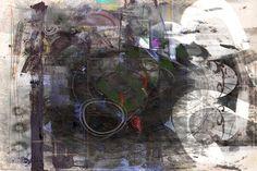Alexander Sokht, INTERPLAY 90x60 cm (35'x 24') ArtistProof Print  #alexandersokht #xpgallery #mixedmedia