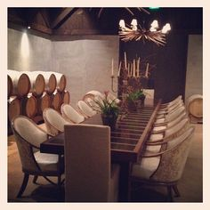 @tobifairley | Wine Cellar at Ram's Gate #sanfrancisco2012 #sonoma