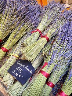 Lavender, Market Day, Aix-en-Provence, France