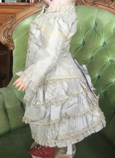 Gorgeous Antique Doll Ensemble from cadeaux on Ruby Lane