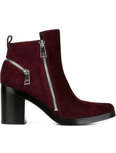 Kenzo Zip Detail Ankle Boots