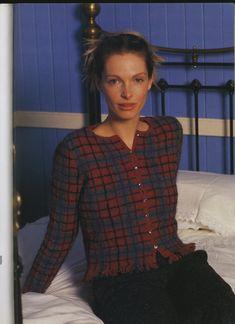 "Photo from album ""Rowan A Season's Tale"" on Yandex. Rowan Knitting, Knitting Designs, Views Album, Mantel, Free Pattern, Plaid, Seasons, Men, Yandex Disk"
