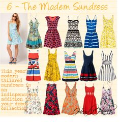 The Modern Sundress, created by roxanne21 on Polyvore