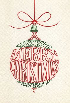 Wishing you a very merry Christmas! ~ Graphic by Jen Sharp