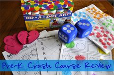 Pre-K Crash Course Review for before Kindergarten starts via www.iheartcraftythings.com