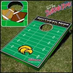 Southern Mississippi Eagles NCAA Tailgate Toss Set