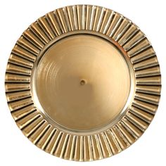 View Gold Fluted Charger Plates, 13 Wood Plate Chargers, Eiffel Tower Vases, 13 In, Dollar Tree Store, Charger Plates, Stoneware Mugs, Travel Size Products, Flute, Decorative Plates