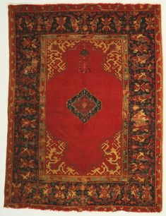 Philadelphia Museum of Art - Collections Object : Prayer RugPrayer Rug Artist/maker unknown, Turkish Geography: Made in Ushak, Turkey, Asia
