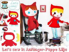 Nähschule: Lilja, die Puppe für Anfänger