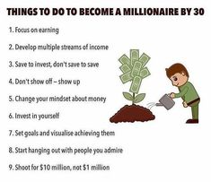 9 Things To Do To Become a Millionaire By Multiple Streams Of Income, Income Streams, Entrepreneur Quotes, Business Entrepreneur, How To Make Money, How To Become, Creating Wealth, Grant Cardone, Think And Grow Rich