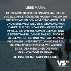 Dear Mom, Today I just want to say thank you. Thank you, for every moment you just hugged me and know my world … - Parenting Unique Quotes, Best Quotes, Happy Birthday Mama, Laughing And Crying, Dear Mom, Papi, Visual Statements, Hug Me, Poems